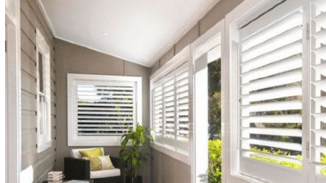 Plantation shutters internal